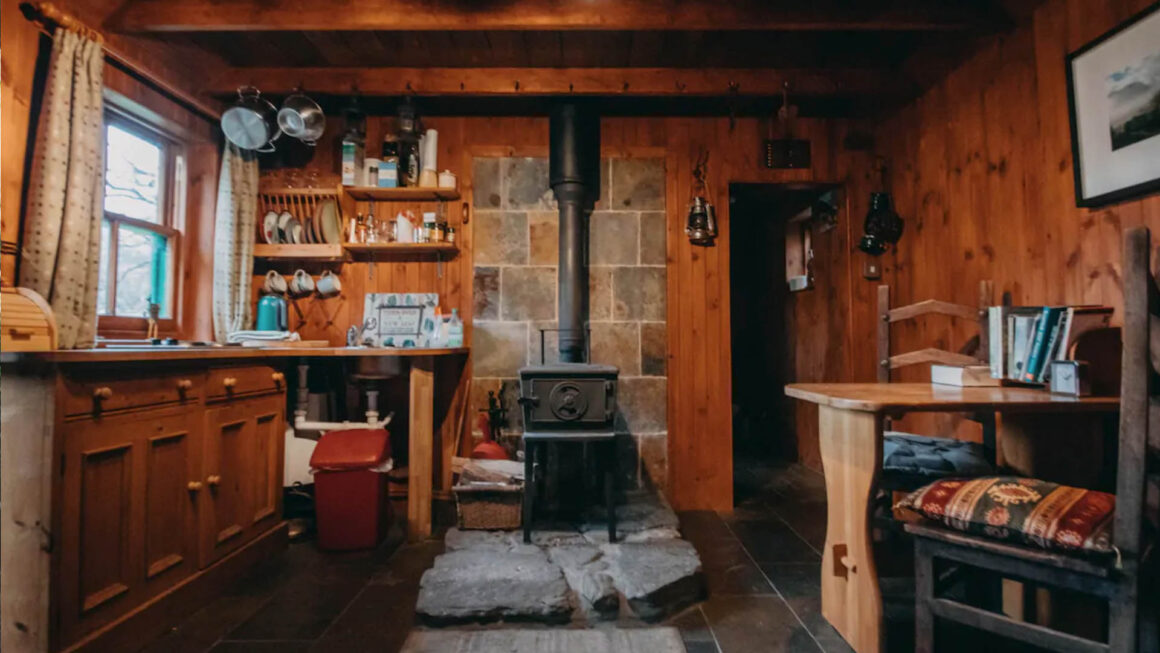 rustic cabin uk