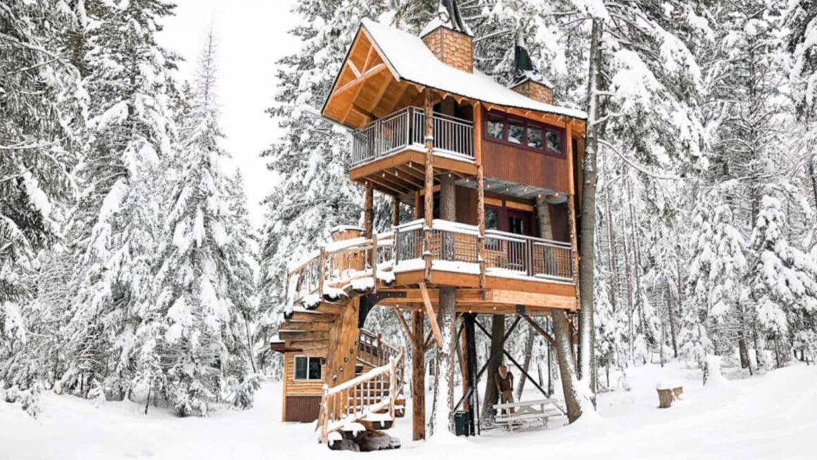 best treehouses usa