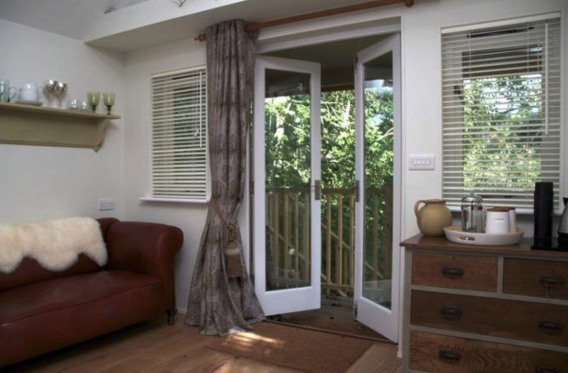 old mill tree house interior
