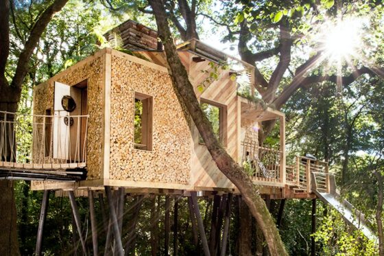 best treehouses uk