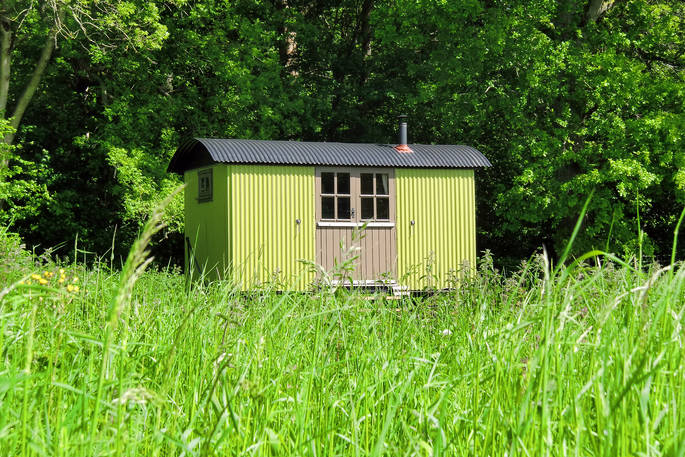 best cabins in hampshire